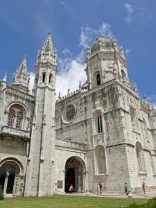 """Monasterio de los Jerónimos de Belén, de estilo """"manuelino"""" (Foto Flickr de mastodon72)"""