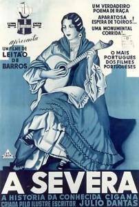 """Película portuguesa """"A Severa"""" de Leitão de Barros, estrenada en 1931"""