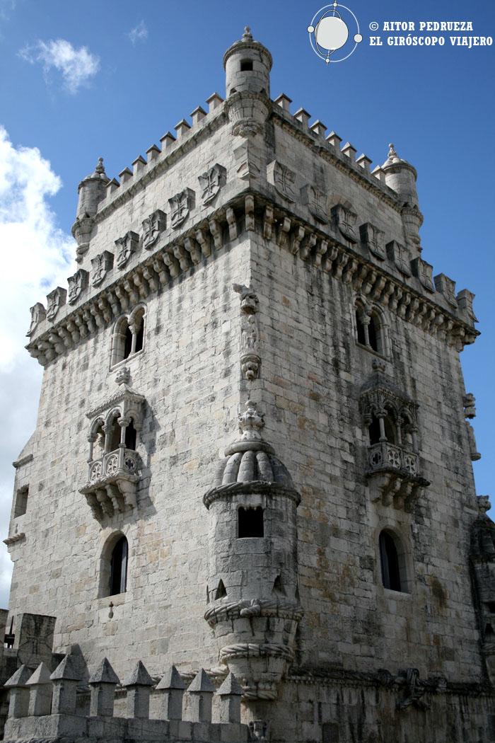 La Torre de Belem, uno de los símbolos de la ciudad de Lisbia