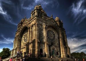 Santuario de Santa Luzia en Portugal (Foto Flickr de caese)
