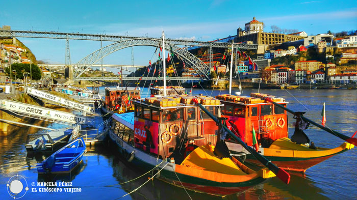 La imagen más clásica de Oporto El puente desde Ribeira