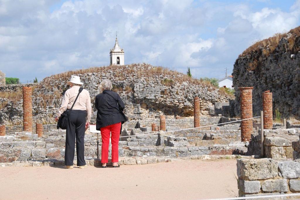 Ruínas romanas de Conímbriga.  Foto de Jimmy Lee.