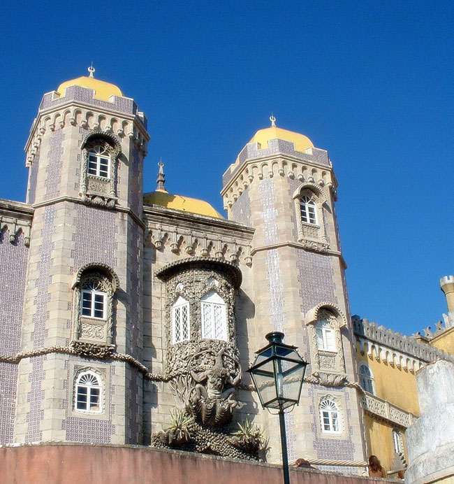 """""""Palácio da Pena"""" en Sintra, Patrimonio de la Humanidad de la UNESCO (Foto Flickr de starrynight1)"""