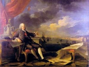 """Retrato del Marquês de Pombal, de Van Loo, ubicado en el """"Museu da Cidade"""" de Lisboa"""
