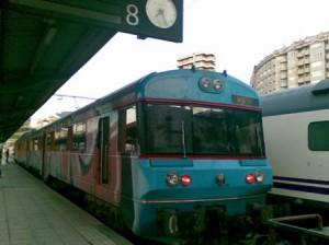 Tren Vigo-Oporto