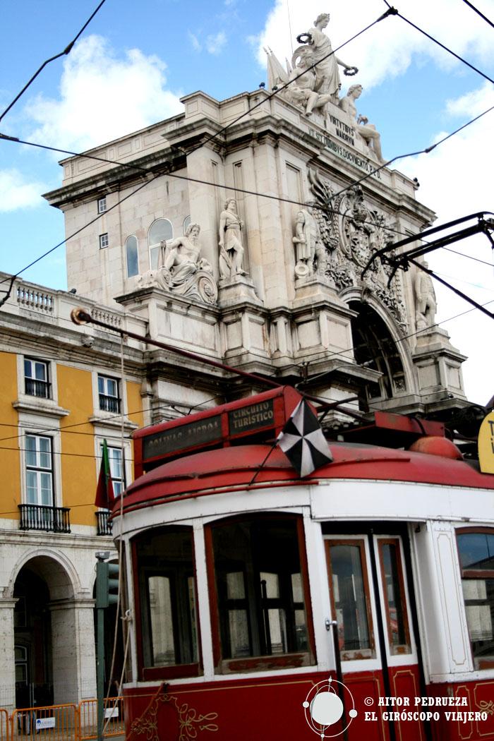 Los clásicos tranvías de Lisboa