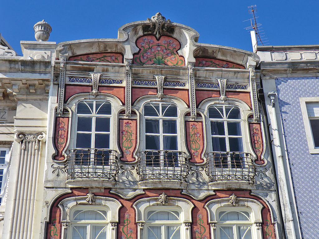 Casa de la Cooperativa Agrícola en Aveiro. © Europeana EU.