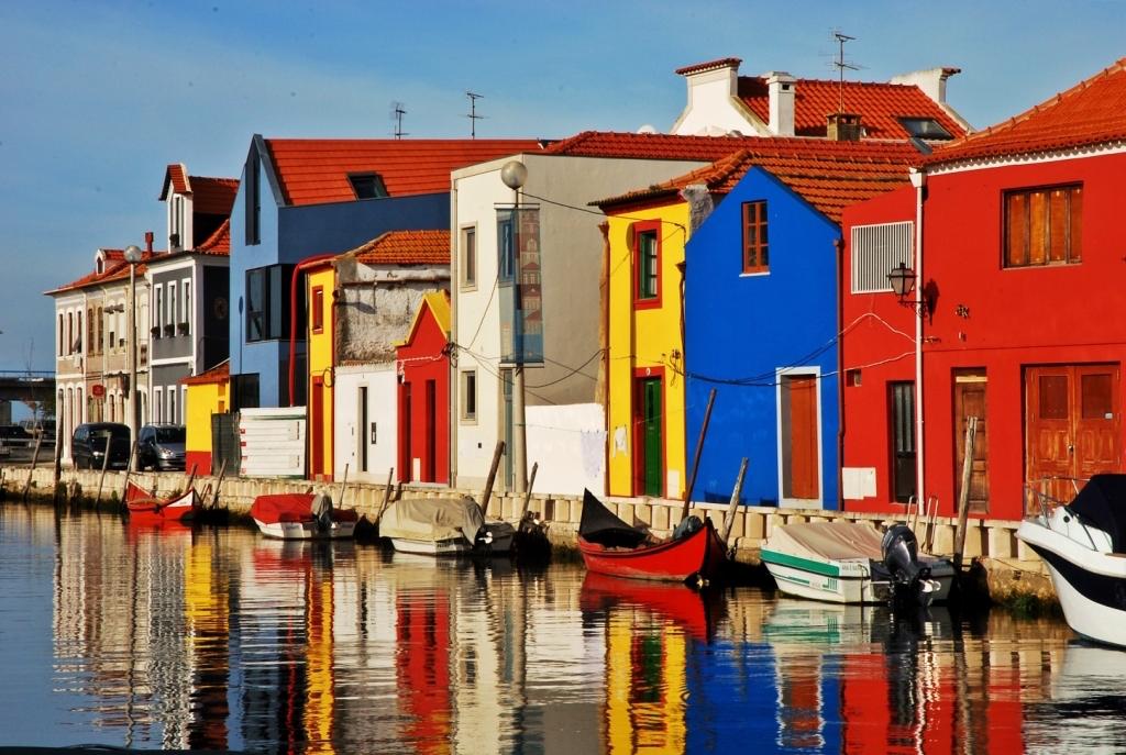 Los colores de Aveiro. En Cais dos Botirões. © Ze Pinho.