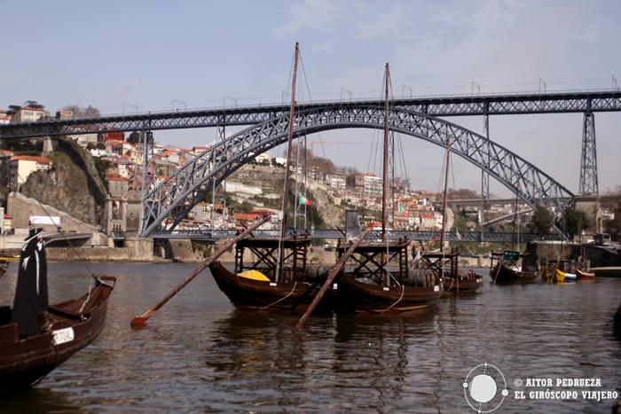 Los Rabelos que transportaban el vino Porto