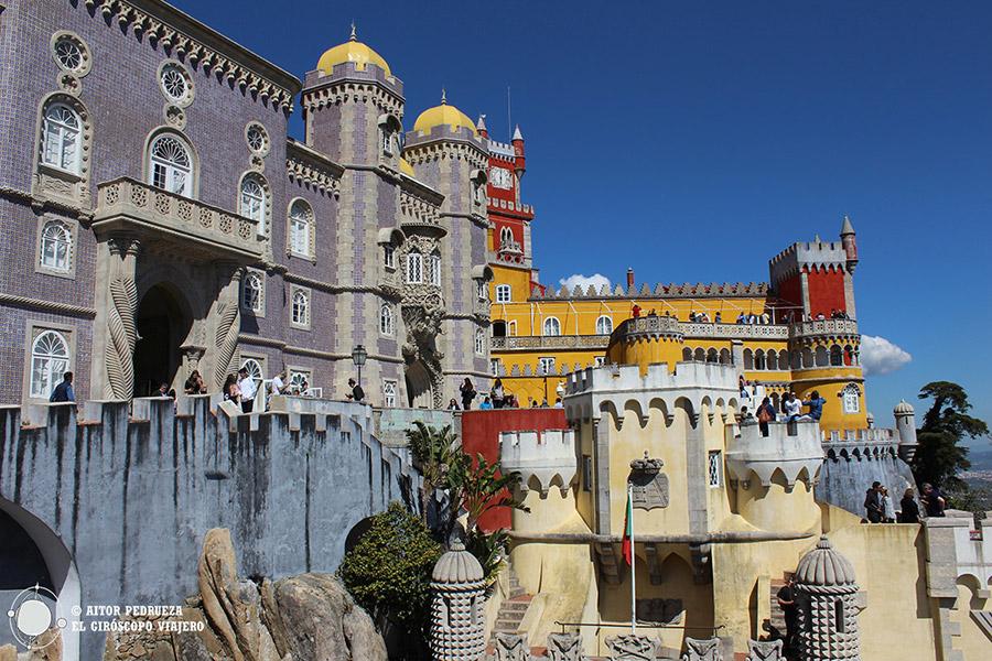 Palacio de Pena en Sintra. Excursiones y tours