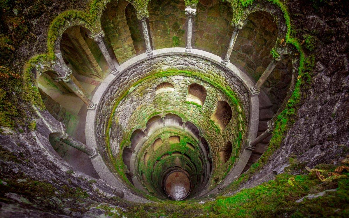 Pozo de la Quinta da Regaleira en Sintra